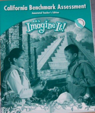 9780076222926: Imagine It! California Benchmark Assessment Level 5 (Annotated Teacher's Edition)