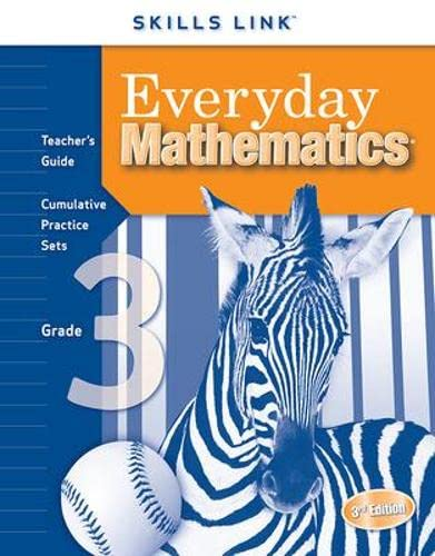 Everyday Mathematics, Grade 3: Skills Link Teacher's: McGraw-Hill Wright Group