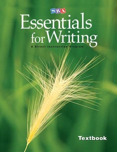 9780076234738: SRA Essentials for Writing