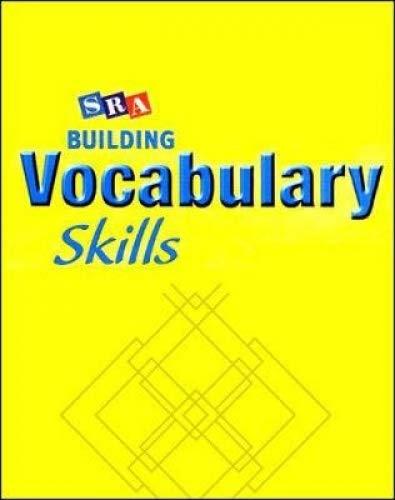 9780076235544: BUILDING VOCABULARY SKILLS SE - LEVEL 3