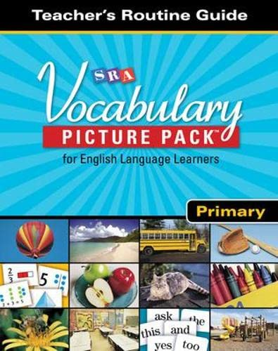 9780076235674: SRA Vocabulary Picture Pack - Teacher Routine Cards - Primary
