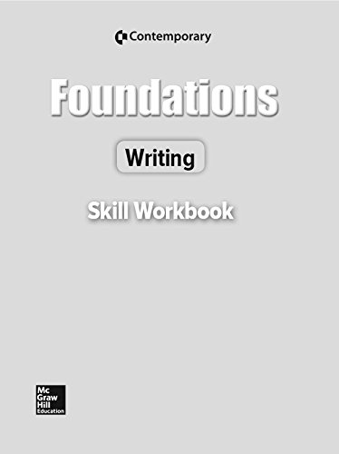 9780076548620: Foundations Writing Revised Ed, Skills Workbook