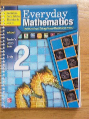 9780076550524: Everyday Mathematics Teacher's Lesson Guide Grade 2 Volume 1