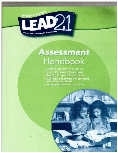 Wright Group Lead 21. [Grade K], Teacher's Lesson Guide. (0076562808) by Wright Group