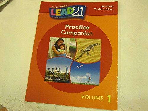 9780076563845: Lead21 PRACTICE COMPANION Vol 1 (Grade 1) ANNOTATED TEACHER'S EDITION