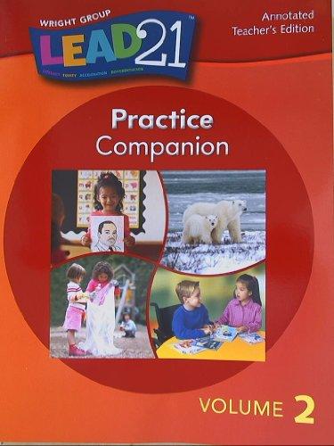 Lead 21, Practice Companion, Annotated Teacher's Edition, Volume 2 Grade 1