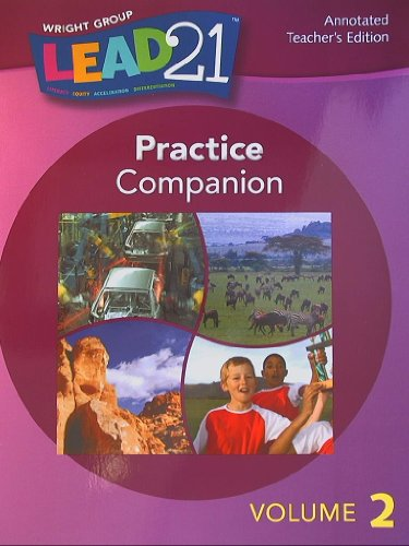 9780076563975: Lead 21,Practice Companion, Grade 4, Annotated Teacher's Edition Volume 2