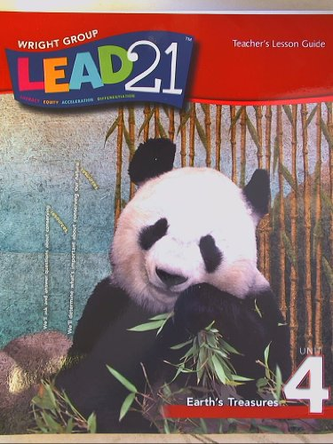 9780076567669: Lead 21, Teacher's Lesson Guide, Grade 1 Unit 4 Earth's Treasures