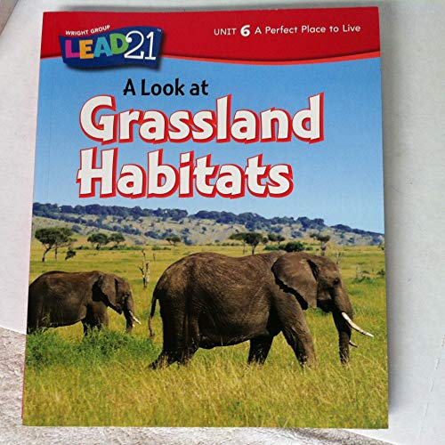 9780076568192: A Look At Grassland Habitats (Uniy 6 A perfect Place to Live)