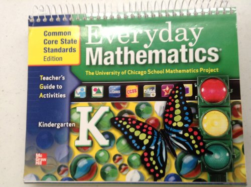 9780076575114: Everyday Mathematics Teacher's Guide to Activities Kindergarten