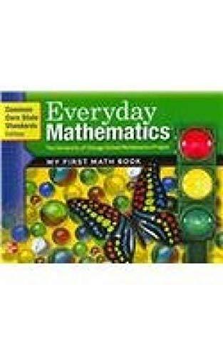 9780076575138: Everyday Mathematics, Grade K, My First Math Book