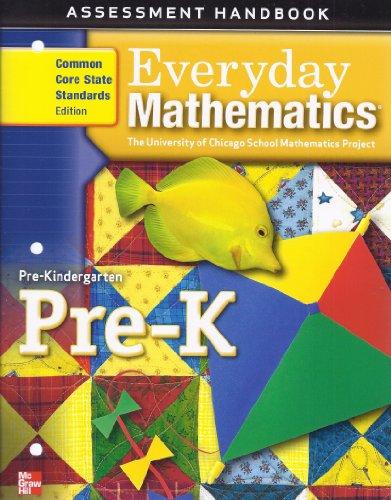 9780076575169: Everyday Mathematics Pre-K (Mathematics at Home- The University of Chicago School Mathematics Project) (Assessment Handbook)