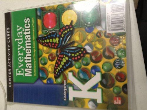9780076575763: Everyday Mathematics Grade K Center Activity Cards