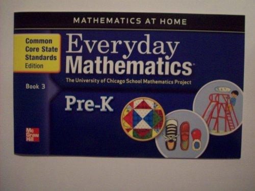 9780076575794: MATHEMATICS AT HOME BOOK 3 - GRADE PRE-K
