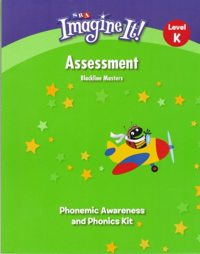 9780076575893: SRA Imagine It! Assessment Blackline Masters Annotated Teacher's Edition - Level K