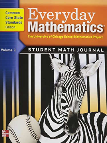 9780076576357: Everyday Mathematics, Grade 3, Student Math Journal 1