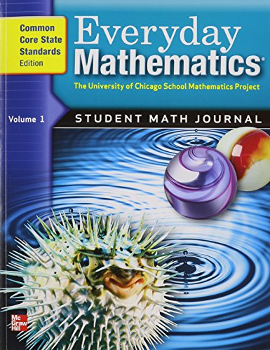 9780076576371: Everyday Mathematics, Grade 5: Student Math Journal, Common Core State Standards Edition, Vol. 1