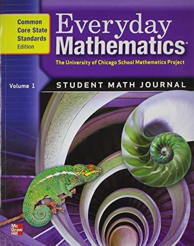 9780076576388: Everyday Math: Student Journal 1, Vol. 1