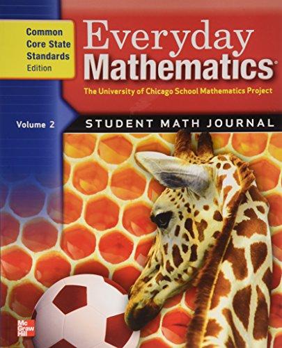 9780076576395: Everyday Mathematics, Grade 1: The University of Chicago School Mathematics Projects, Student Math Journal: 2