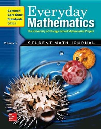 9780076576432: Everyday Mathematics: Student Math Journal, Vol. 2, Common Core State Standards Edition