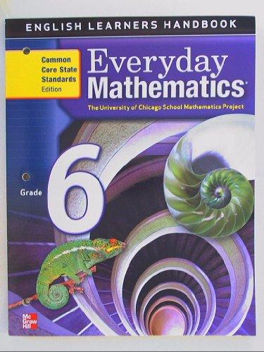 9780076576586: Everyday Mathematics, Grade 6, English Learner's Handbook