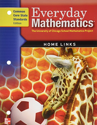 9780076576593: Everyday Math Home Links: Grade 1
