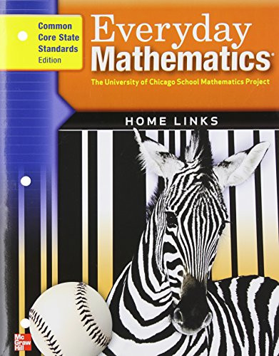 9780076576616: Everyday Mathematics, Grade 3, Consumable Home Links