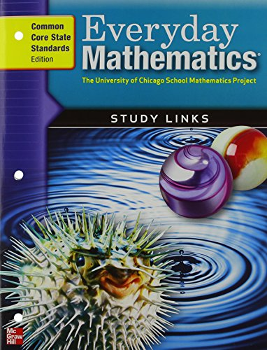 9780076576630: Everyday Mathematics, Grade 5, Consumable Study Links