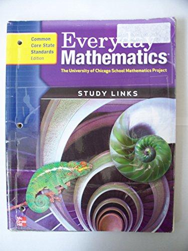 9780076576647: Everyday Mathematics, Grade 6, Consumable Study Links