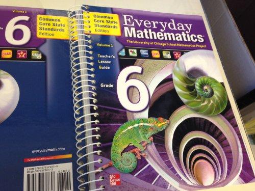 Everyday Mathematics Grade 6 Teacher's Lesson Guide V.1: Bell