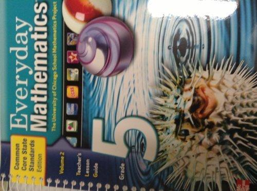 9780076576913: Everyday Mathematics: Teacher's Lesson Guide (Volume 2, Grade 5)