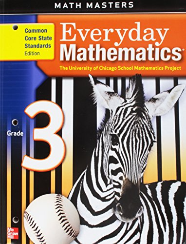 9780076576951: Everyday Mathematics, Grade 3, Common Core State Standards Edition (Math Masters)