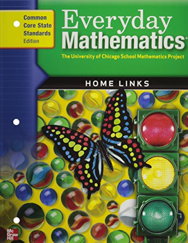9780076577286: Everyday Math Home Links: Grade K