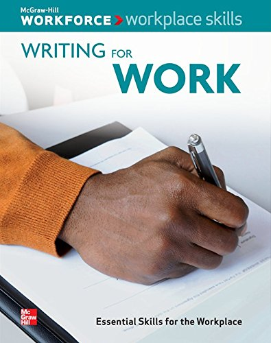 9780076577927: Writing For Work, Essential Skills for the Workplace