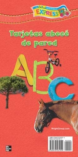 Alphabet Wall Cards (Spanish) (Spanish Edition)