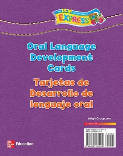 9780076581092: DLM Early Childhood Express, Oral Language Development Cards (EARLY CHILDHOOD STUDY)