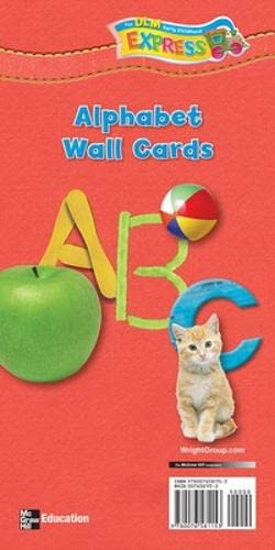 9780076581153: DLM Early Childhood Express, Alphabet Wall Cards English (EARLY CHILDHOOD STUDY)