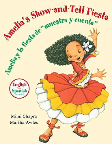 9780076581382: Amelia's Show-and-tell Fiesta (Spanish and English) PRE-K Big Book