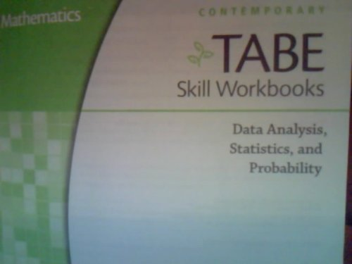 9780076585885: TABE Skill Workbooks: Data Analysis,Statistics, and Probability Leve D (TABE, Level D)