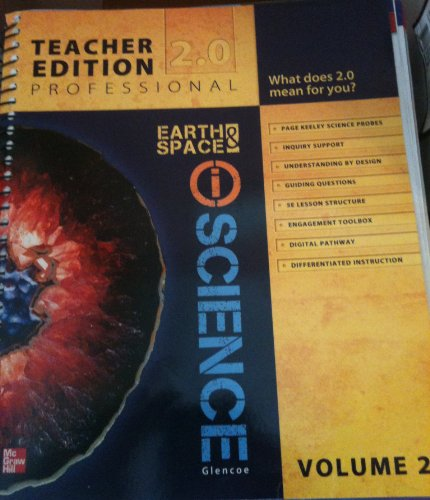 9780076588640: Glencoe Earth & iSpace Science, Grade 6, Vol. 2, Teacher Edition