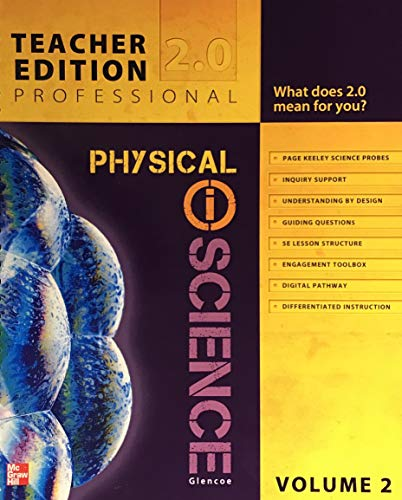 Teacher Edition Professional 2.0 Physical Science Volume: Glen one