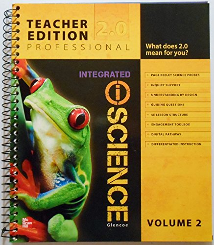 9780076588664: Integrated iScience Glencoe Teacher Edition Professional 2.0 (Volume 2)