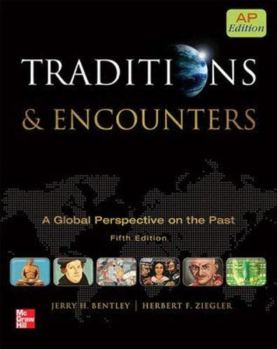 9780076594382: Bentley Traditions and Encounters, AP Edition (AP TRADITIONS & ENCOUNTERS (WORLD HISTORY))