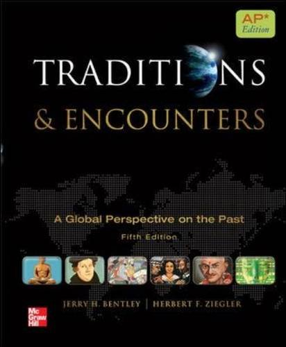 9780076594382: Bentley Traditions and Encounters, AP Edition