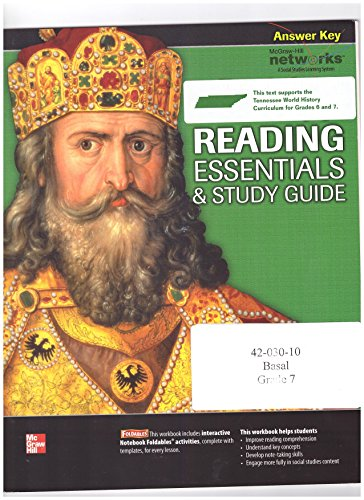 9780076594948: Discovering Our Past: A History of the World - Early Ages - Reading Essentials & Study Guide - Answer Key