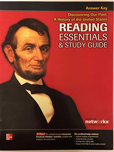 9780076596966: Discovering Our Past: A History of the United States-Reading Essentials & Study Guide Student Workbook Answer Key