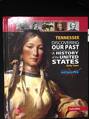 9780076598335: Tennessee Discovering Our Past A History of the United States Early Years