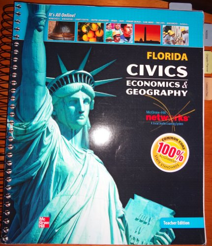 9780076600861: Florida Civics Economics & Geography (Teacher Edition)