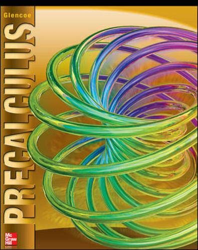 9780076602186: Glencoe Precalculus Student Edition (ADVANCED MATH CONCEPTS)