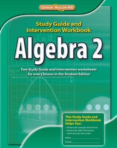9780076603015: Algebra 2, Study Guide and Intervention Workbook (MERRILL ALGEBRA 2)